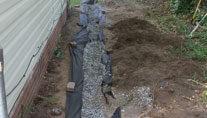 correcting water intrusion